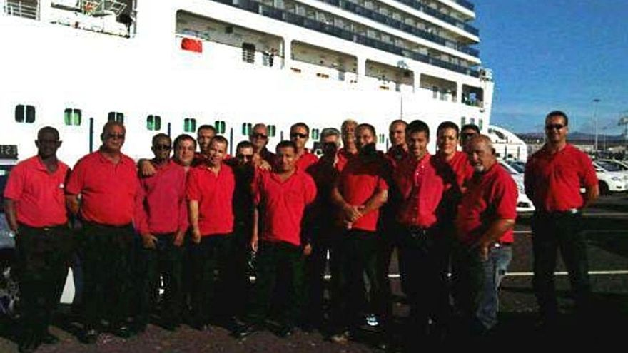 Los taxistas de Arrecife, de premio
