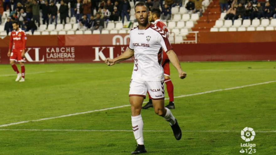 Alfredo Ortuño, nuevo delantero del FC Cartagena