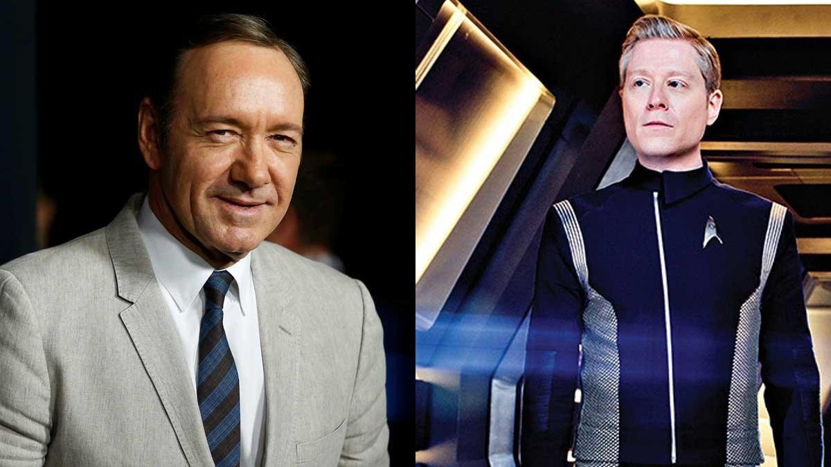 Kevin Spacey y Anthony Rapp.