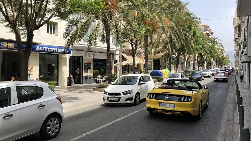 Altea pide la desafección de la carretera N-332 entre el término municipal de L'Alfàs y el convento de Carmelitas