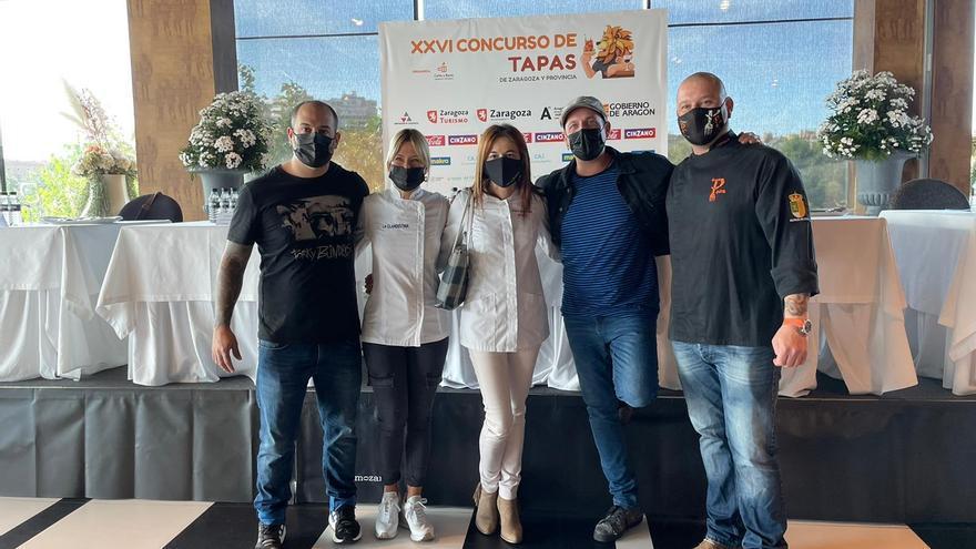 El Nola Gras gana el concurso de tapas de Zaragoza 2021