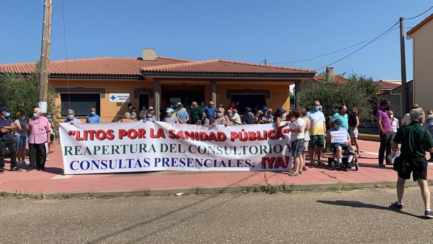 Litos resiste y mantiene las concentraciones por la sanidad en septiembre