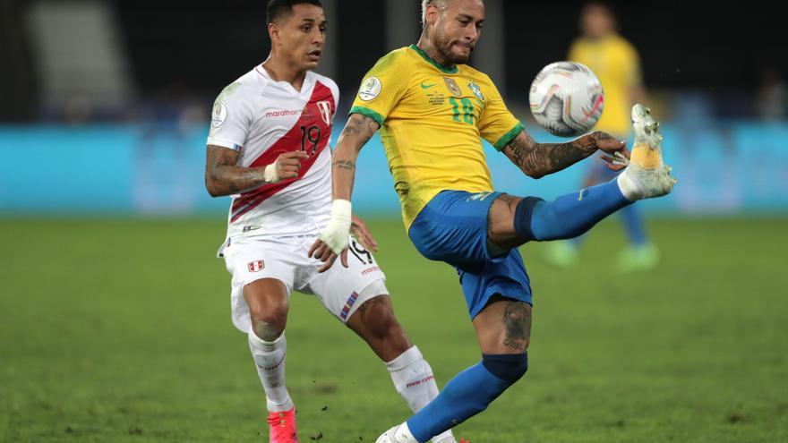 Brasil elimina 1-0 a Perú y pasa a la final