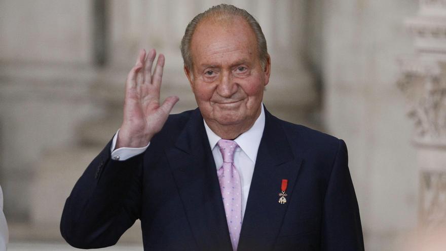El rey Juan Carlos ataca a la fiscalía por señalarle como comisionista internacional