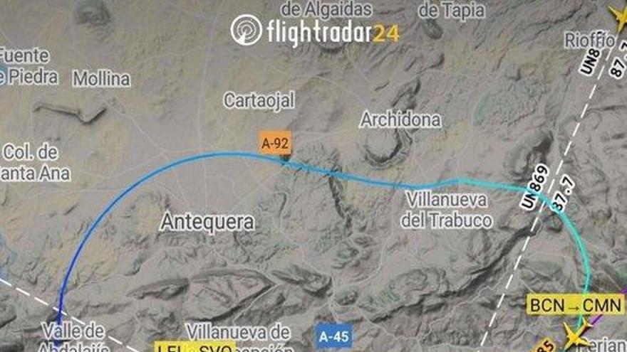 Aterra sense incidents un avió que volava de Barcelona a Marràqueix després de detectar fum a bord