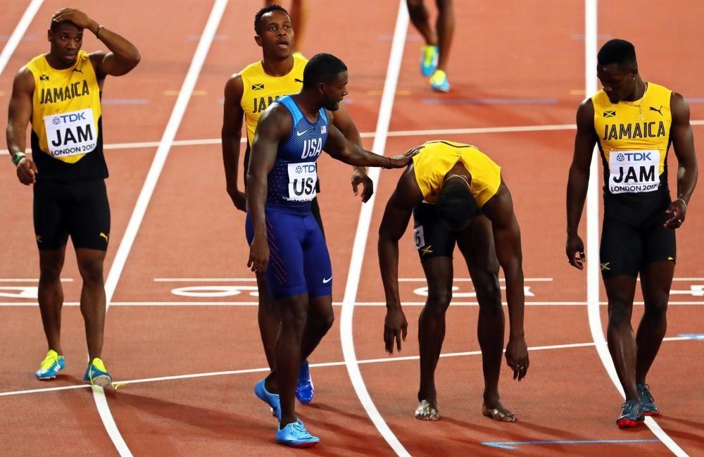 La secuencia de la lesión de Usain Bolt