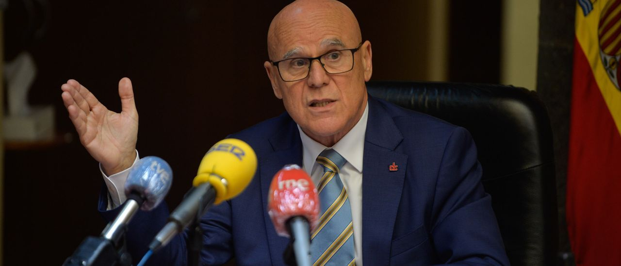Imagen de archivo del Diputado del Común de Canarias, Rafael Yanes