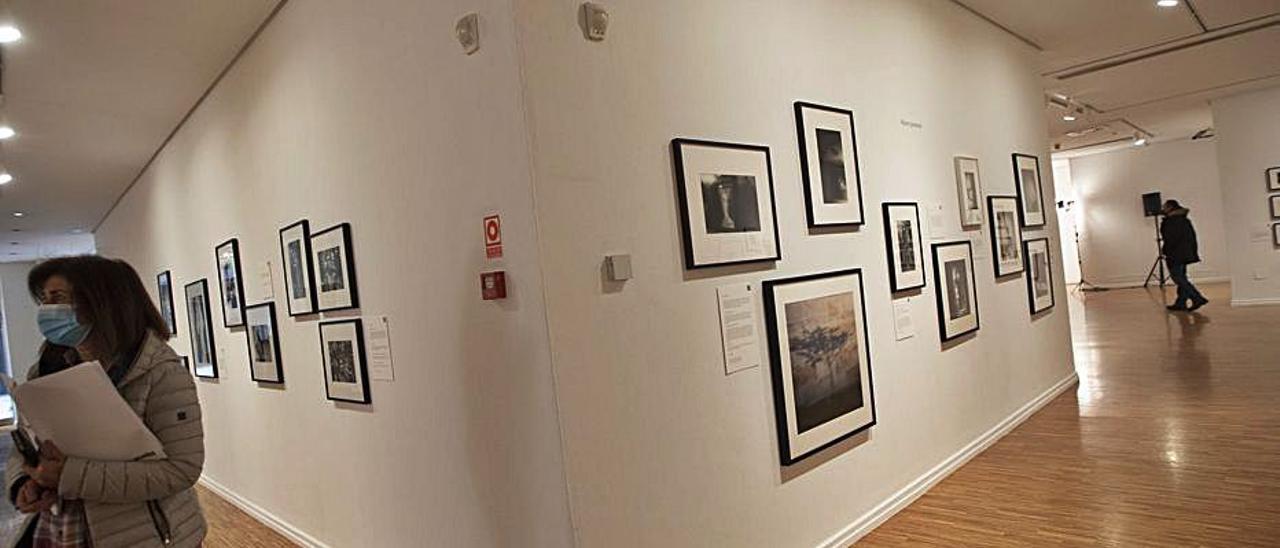 La exposición en la sala Sabadell Herrero. | Miki López