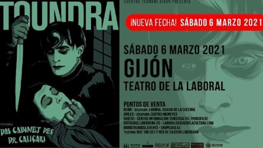 BSO de 'Das Cabinet des Dr. Caligari' con Toundra