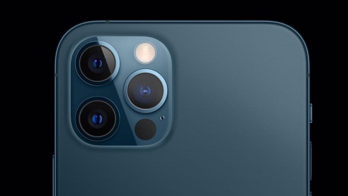 Cámara del iPhone 12 Pro.
