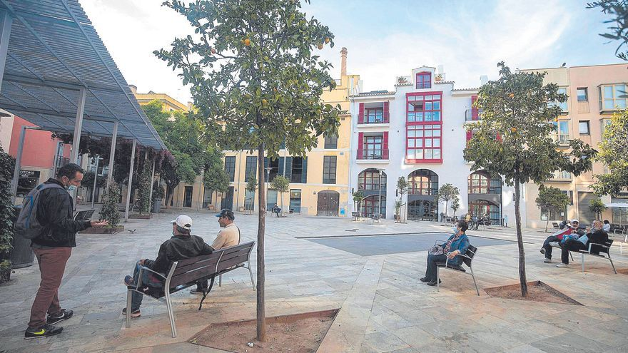 La plaza Raimundo Clar quiere remontar
