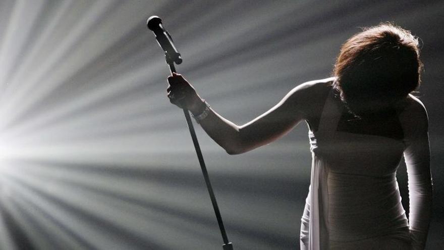 El holograma de Whitney Houston, listo para comenzar una gira en Europa y EEUU