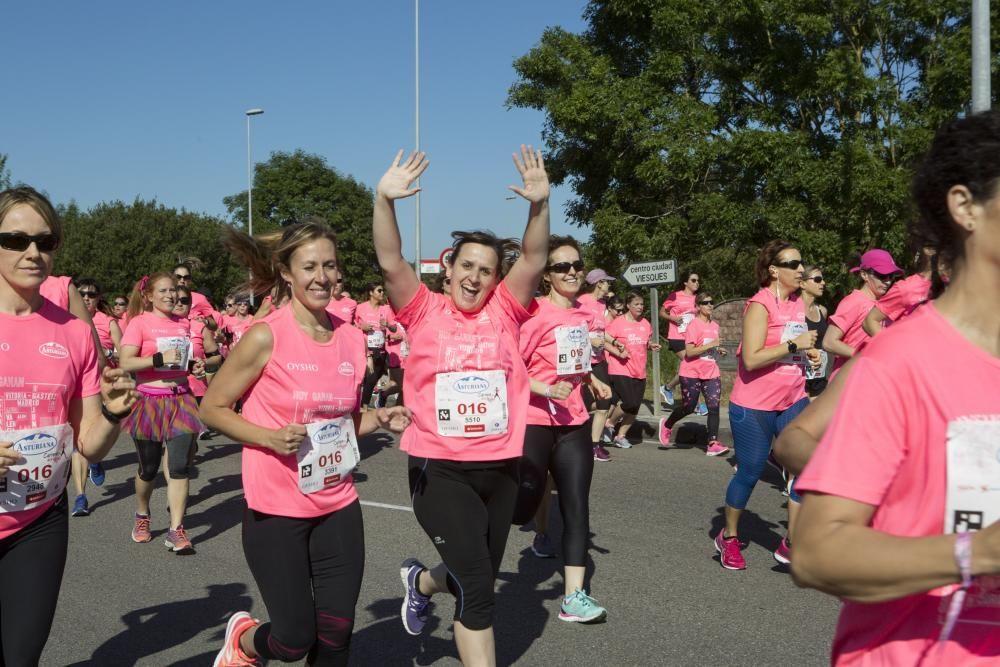 Participantes en la carrera