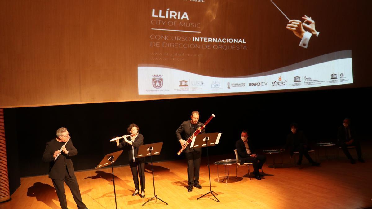Presentación del concurso internacional esta mañana en el Palau de les Arts Reina Sofia.