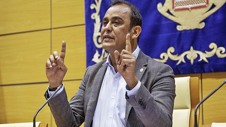 Blas Acosta cree que la filtración de la Fiscalía pretende deteriorar su imagen