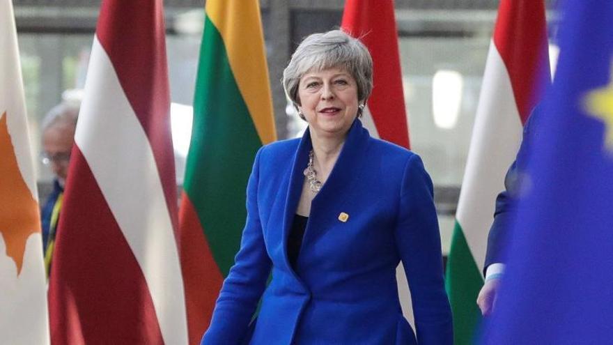 May, abierta a una prórroga del Brexit