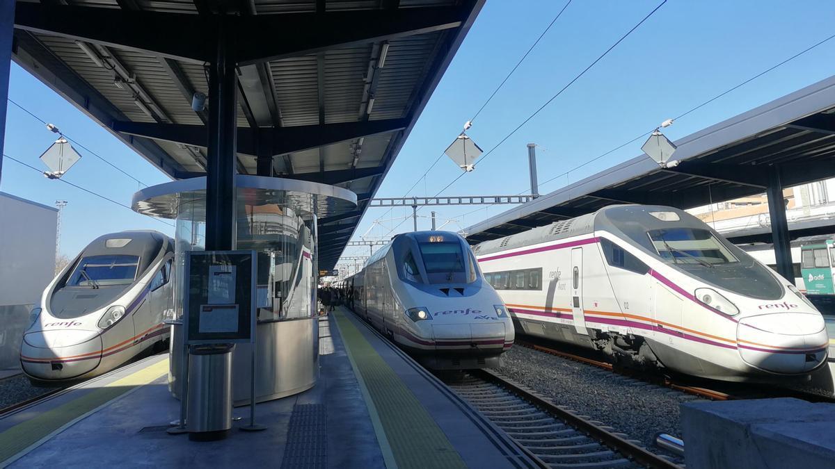 Trenes AVE.