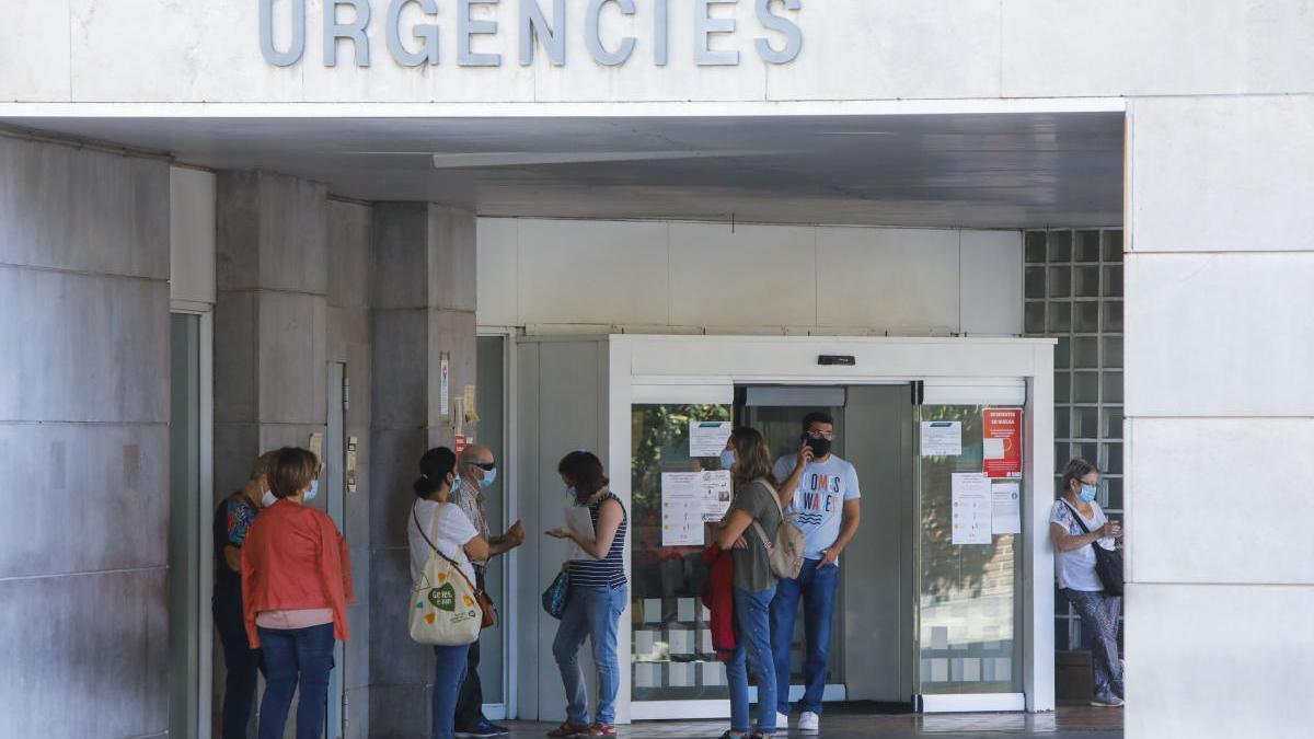 Urgencias de un hospital en Valencia