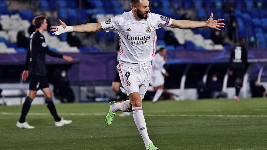 Benzema premia al mejor Madrid