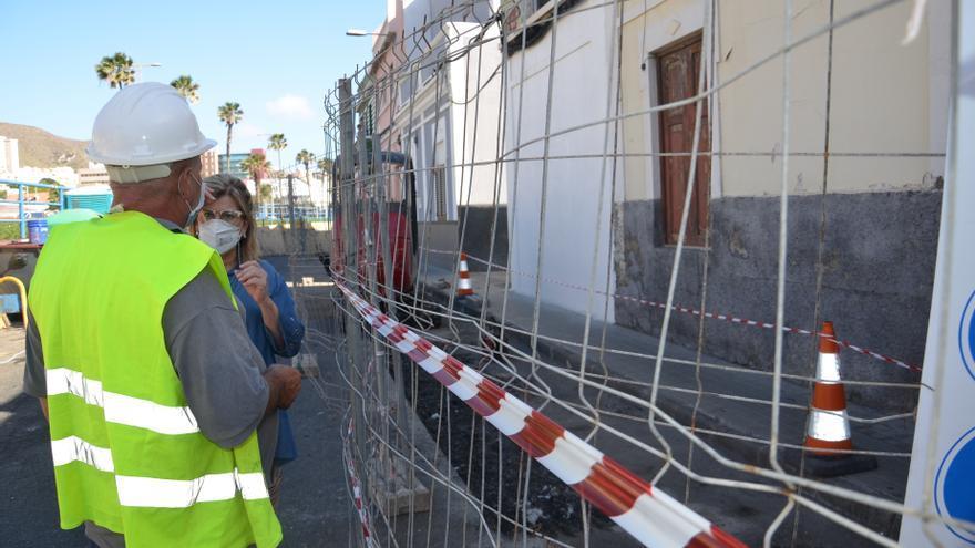 El Ayuntamiento mejora el sistema de saneamiento en San Cristóbal