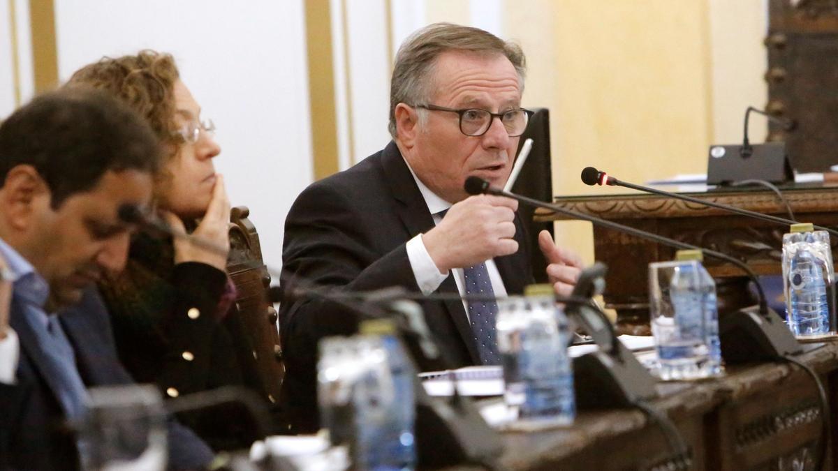 El presidente de Melilla, Eduardo Castro.
