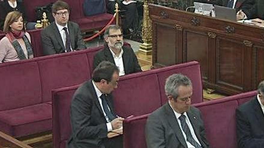 La Fiscalia no impugna cap document de les defenses en el judici als líders del procés