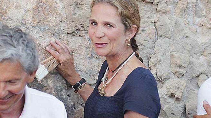 Elena de Borbón, otro de los apoyos de la Reina Sofía en Marivent