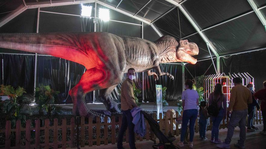 Dinosaurs Tour en Mallorca: así es la exposición de dinosaurios animatrónicos