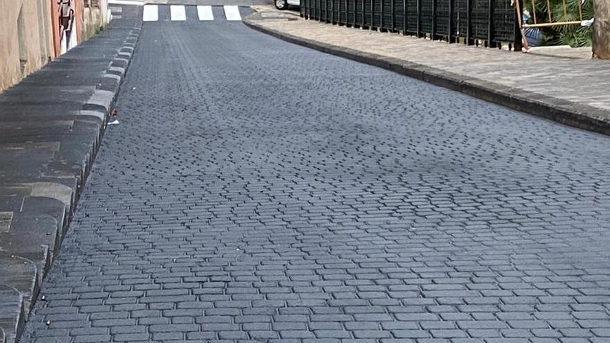 Finalizan las obras para adecuar la calle Costera del Gurugú en Alcoy