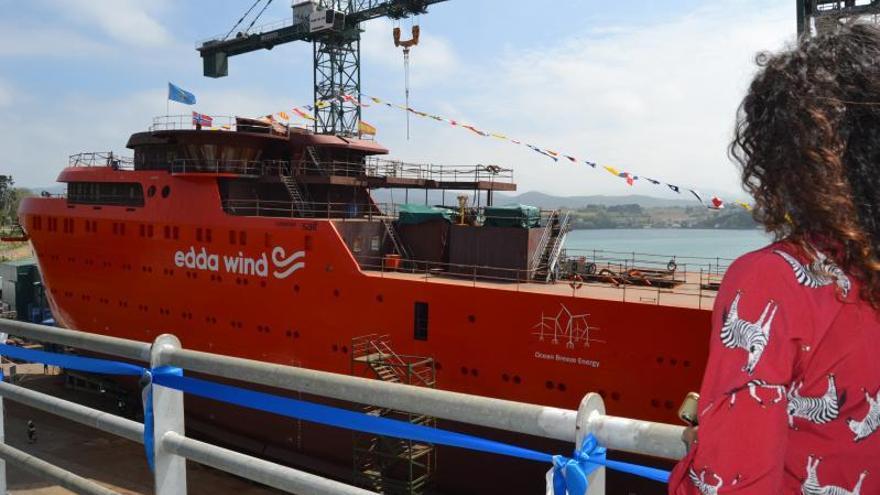 """Maroto aprobrá """"pronto"""" el impulso al naval asturiano con los fondos de la UE"""
