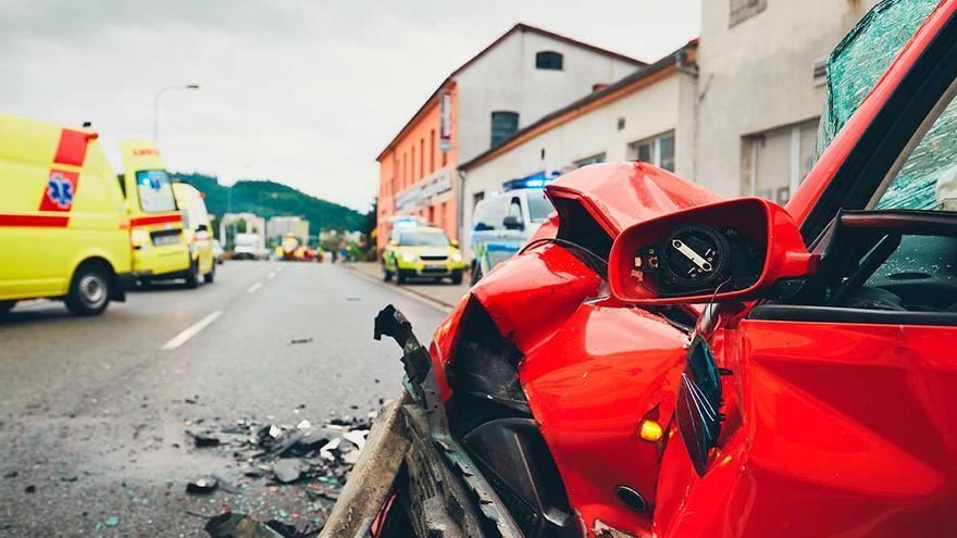 Pontevedra es la segunda provincia con más lesionados por accidentes de tráfico
