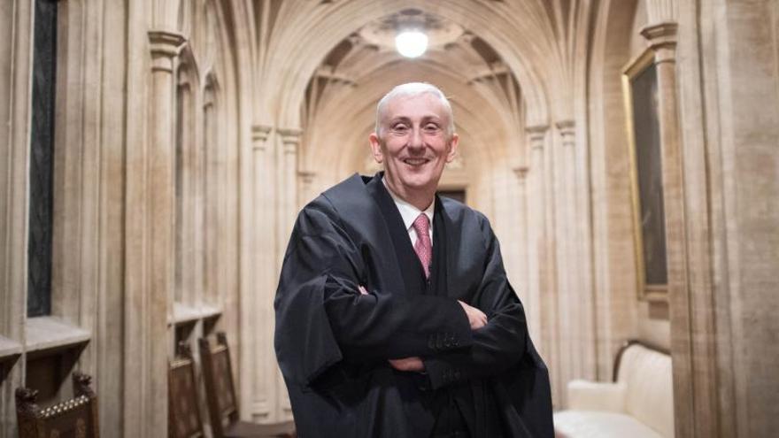 Lindsay Hoyle releva a Bercow como presidente del Parlamento británico