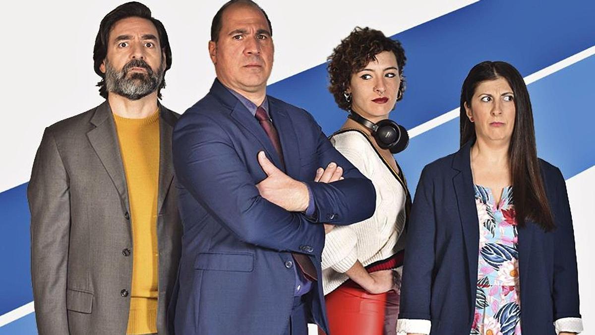 Alberto Lozano, Ramon Godino, Berta Bahr i Rafaela Rivas protagonitzen el muntatge que dirigeix Lluís Elías | SALA VERSUS GLÒRIES