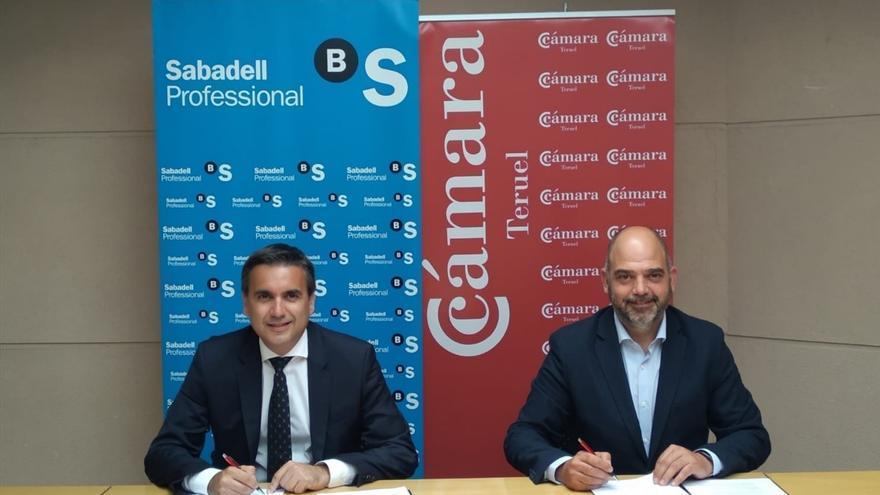 La Cámara de Teruel y Banco Sabadell ofrecen a las empresas de la provincia nuevas líneas de apoyo