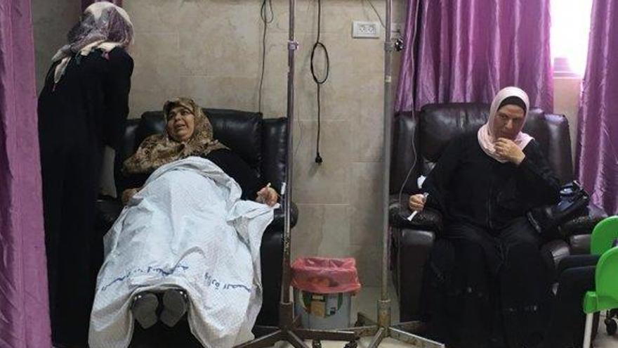 'Condenadas en Gaza', el documental que narra el doble drama de las enfermas de cáncer
