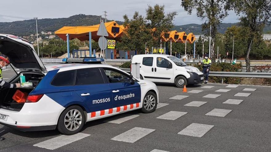 Els Mossos desplegaran 1.166 agents en un dispositiu de mobilitat en motiu de la Diada