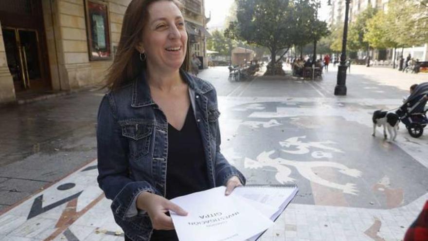 Rotunda victoria de Lorena Gil en las primarias para liderar la lista de Podemos a las elecciones autonómicas