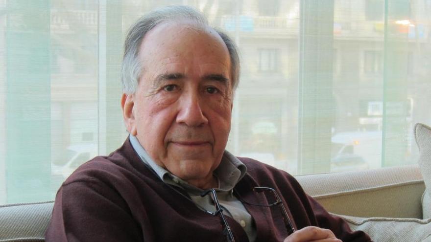 La política y la cultura se despiden de Joan Margarit y recuerdan sus versos