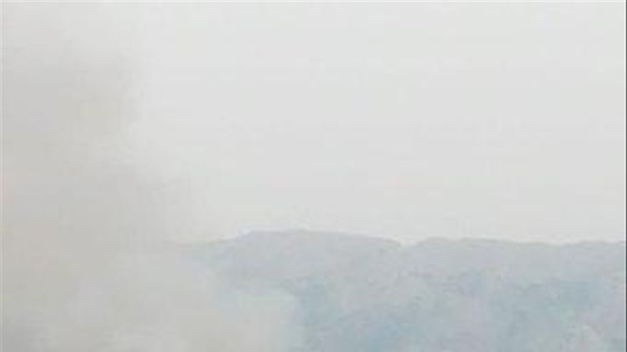 Controlado el fuego forestal de Archidona