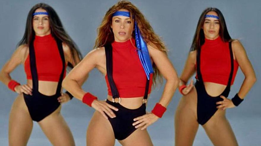 La zamorana Mónica Peña triunfa junto a Shakira en el videoclip de Black Eyed Peas