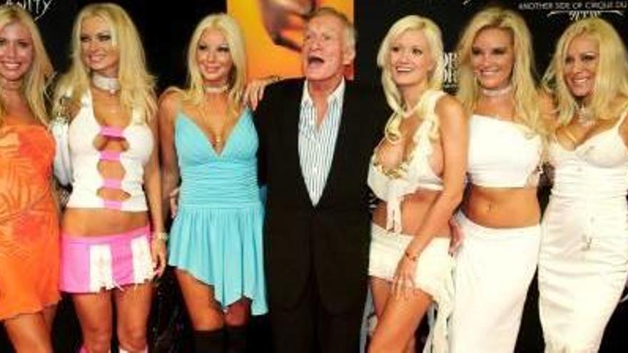 Mor als 91 anys Hugh Hefner, fundador de la revista «Playboy»