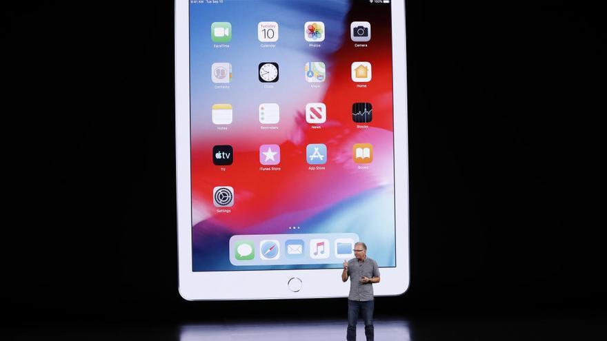 El nuevo iPad: pantalla de retina más grande y chip A10 Fusion