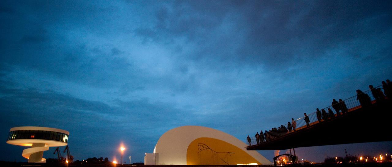 El Centro Niemeyer de Avilés.