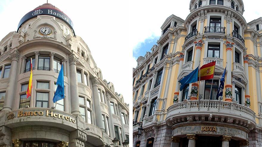 La unión de Sabadell-Herrero y BBVA pugnaría por el liderazgo en Asturias, con casi mil empleos
