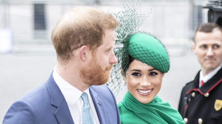 Meghan Markle y el Príncipe Harry se despiden de Reino Unido con una bonita imagen