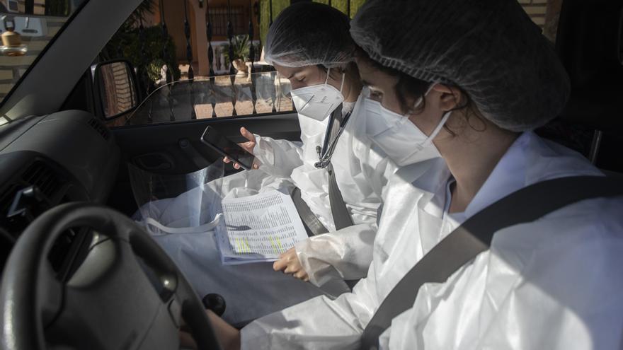 Así es la vacunación a domicilio contra la COVID-19 en la Comunitat Valenciana