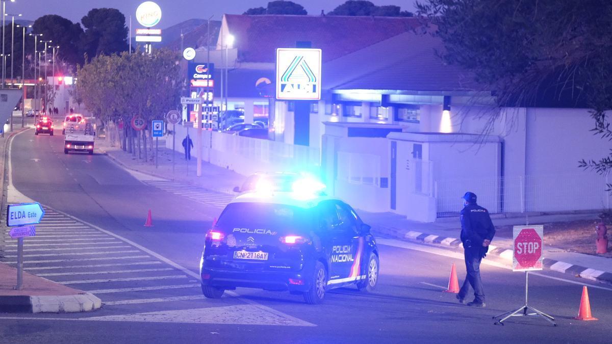 Policía Nacional realizando controles, imagen de archivo