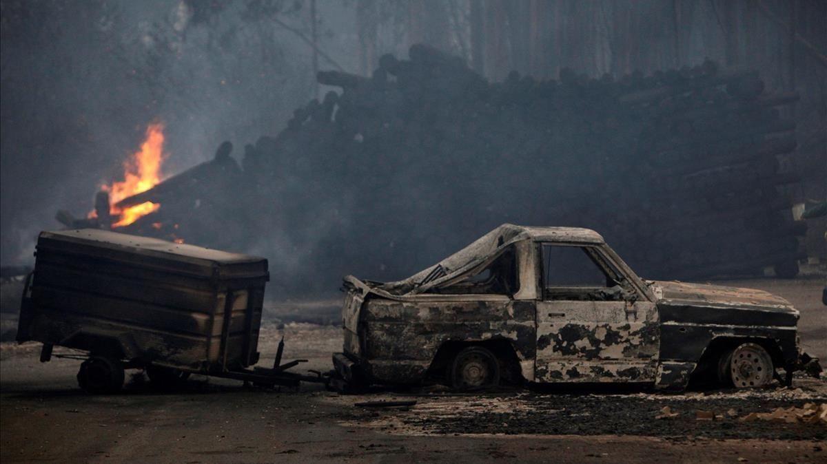 Las fotos del drama en Galicia