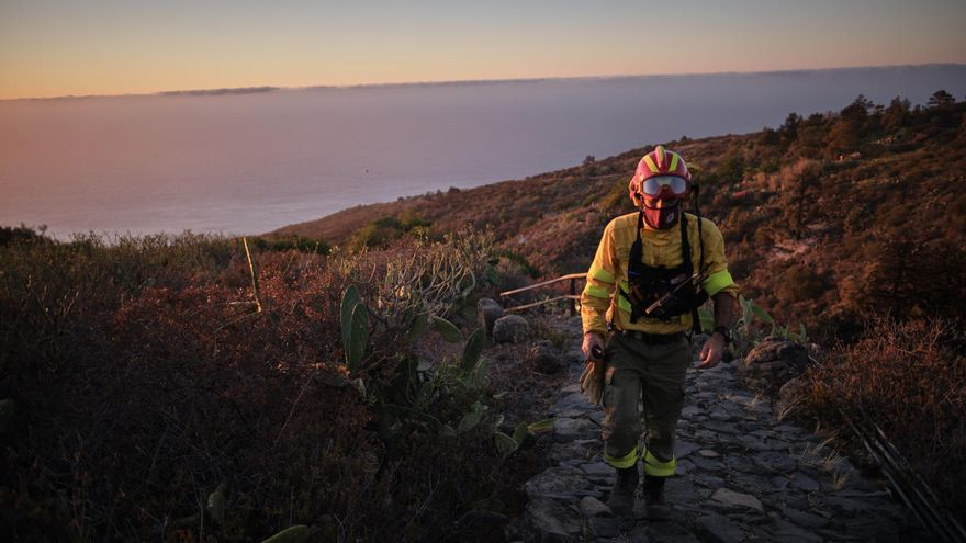 El Gobierno de Canarias rebaja a prealerta el aviso por riesgo de incendios forestales