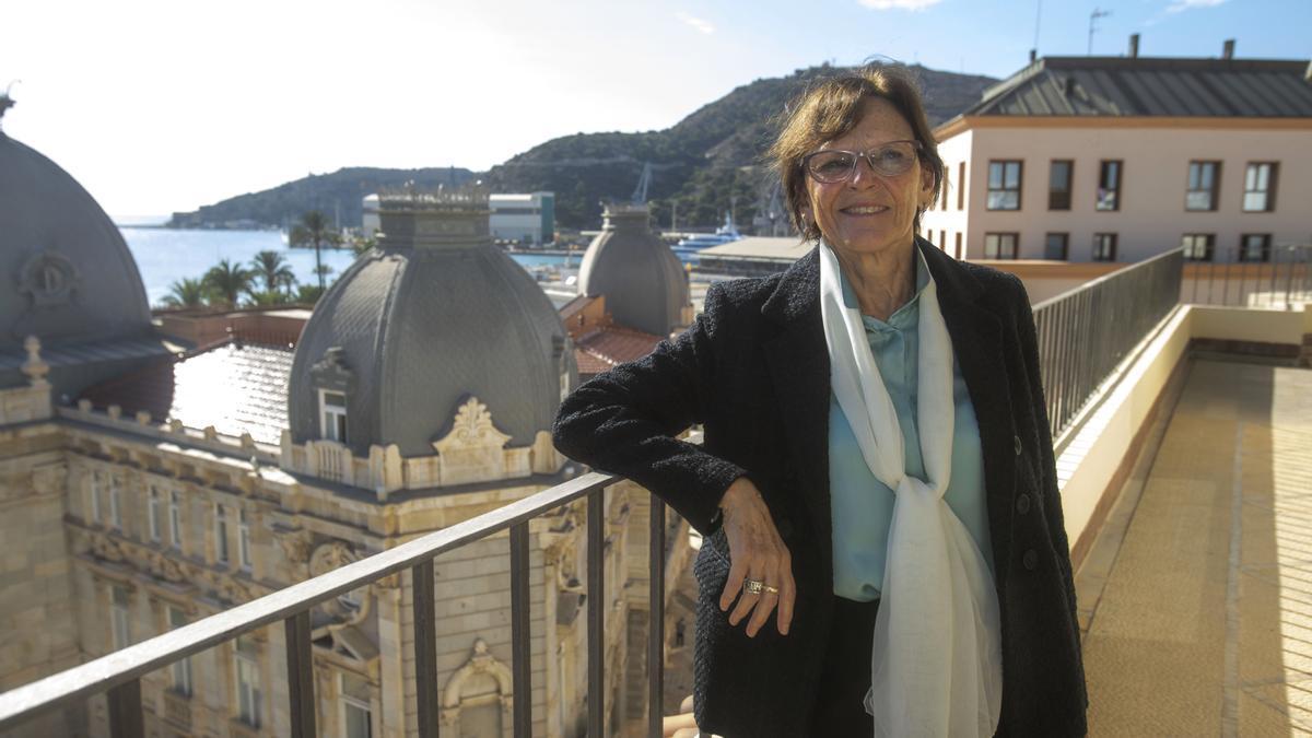 Francisca Baraza is the president of the Mancomunidad de los Canales del Taibilla (MCT)